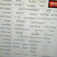 VGA Card Ati Radeon AMD 7670 4 GB DDR5 128 bit PCI E