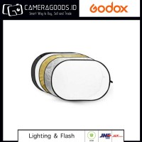 ( Camera Goods ) GODOX 5 IN 1 COLLAPSIBLE REFLECTOR RFT05 120X180CM