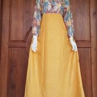Daster Batik Panjang / Long Dress / Baju Muslim / Baju Busui