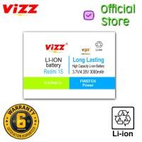 Vizz Baterai Double Power Xiaomi Redmi 1s Original