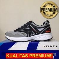 ANEKASEPATU Sepatu Running/Lari Kelme Seattle Black Grey 1314039 Origi