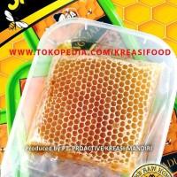 Madu Sarang Lebah Mellifera 100% RAW ASLI MADU Nett 260 gr.