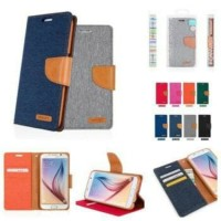 Samsung Galaxy A50 flipcase canvas flipcover flip case cover casing
