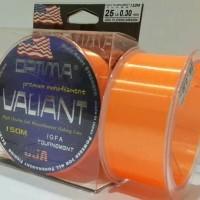 Senar pancing optima valiant 150M Orange