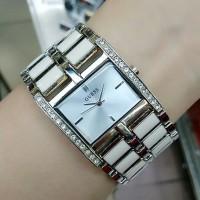 Jam Tangan Fashion Guess 0543 Wanita Rantai Stainless Steel