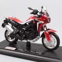 Jual Diecast Miniatur Motor Honda Twin Africa Skala 1/18 Maisto