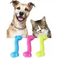 Tulang GiGit Anjing Mainan Kunyah Karet Anjing Dog Chew Toys
