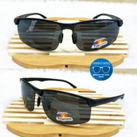 kacamata sunglases polarized sport half frame pria