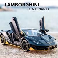 Miniatur Diecast skala 1:32 Mobil Lamborghini Centenario LP770-4