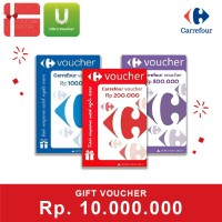 Voucher Carrefour Rp 10.000.000