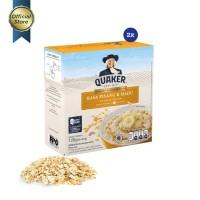 Quaker Instant Oatmeal Pisang & Madu Box 4s - 2 Pcs FS