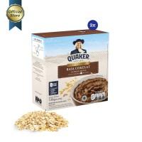 Quaker Instant Oatmeal Cokelat Box 4s - 2 Pcs