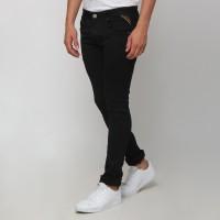 Boy London Celana Jeans Pria Original - Black Slim Fit - Hitam, 34
