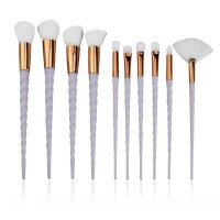 Eyelash Eye Shadow Eyeliner Lip Brush Makeup Brushes Set 10 Pcs/1Set 4