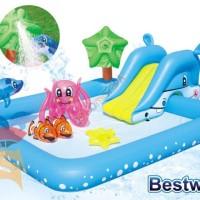 Bestway Kolam Renang Anak #53052 Keluarga Fantastic Aquarium Play Pool