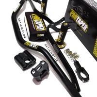 Stang Fatbar Protaper Set - Handguard Busa Raiser Handgrip All Motor