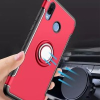Premium Invisible Ring Stand Case Huawei Honor 8X