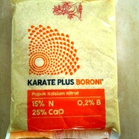 pupuk Meroke Karate plus Boroni - pupuk Boron Kalsium Nitrat