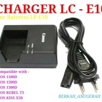 Carger/Charger LC-E10 For Canon Eos 1100D/1200D/1300D/Rebel T3/KissX50
