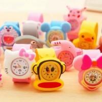 Jam tangan anak karakter jam analog anak