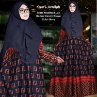 Baju Busana Muslim Gamis Syari Pesta Wanita Maxmara Jamilla Terbaru