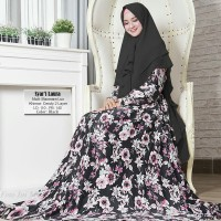 Baju Busana Muslim Gamis Syari Pesta Wanita Maxmara Laura Terbaru