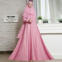 Baju Busana Muslim Gamis Syari Pesta Wanita Balotelly Zarma Terbaru