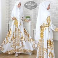 Baju Busana Muslim Gamis Syari Pesta Wanita Maxmara Duwita Terbaru