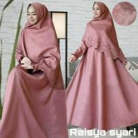 Baju Muslim Gamis Syari Pesta Wanita Balotelly Embos Raisya Terbaru