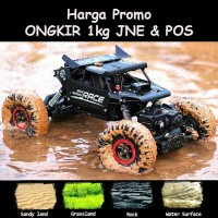 RC Rock Crawler Metal Alloy Mobil Remote Kontrol Jeep Off road