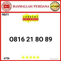 Nomor Cantik IM3 10 Digit Seri 0816 21 80 89 Nb11