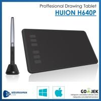 Huion H640P H 640 P Pro Pen Grafik Tablet Desain Grafis like WACOM