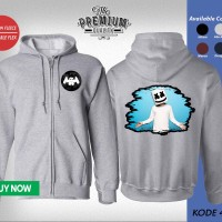 Jaket Sweater Zipper Band MARSHMELLO 41