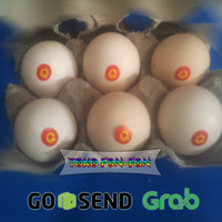 Telur Ayam Kampung Arab/Omega, Murah - Fresh