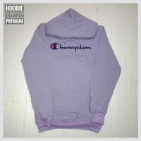 Hoodie Champion Premium Unisex (Kode/HC01)