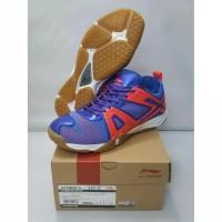 sepatu badminton Lining Omega Blue