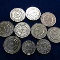 uang koin mahar kuno 19Rp