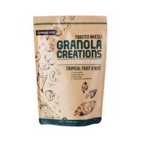 Granola Creations Granola Tropical Fruit & nut 400g