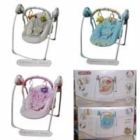 bouncer baby elle portable swing ayunan bayi eletrik
