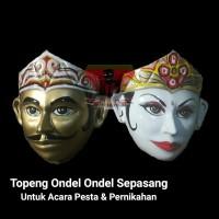 Topeng Ondel Ondel Betawi Buat Acara Nikah & Pesta