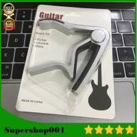 Capo Gitar Aluminium Alloy Peralatan Music Aksesoris Musik Alat Musik