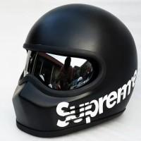 Bandit Simpson hitam doff Supreme Special Order helm custom