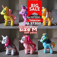 Boneka My Little Pony Medium Soft Yelvo