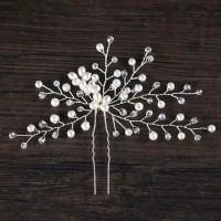 Bride Wedding Hair Accessories AR022 / Headpiece / Aksesoris crystal