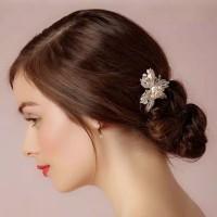 Bride Wedding Hair Accessories AR024 / Headpiece / Aksesoris crystal