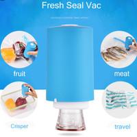 Vacuum Food Sealer Makanan Daging USB Rechargable Mini Portable Travel