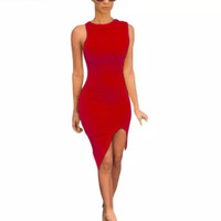 BODYCON DRESS/ COCKTAIL DRESS/ SEXY DRESS/ PARTY DRESS/ RED DRESS
