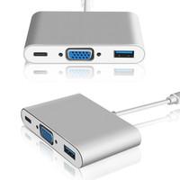 Usb C Usb 3.1 To Vga - Usb 3.0 - Usb C Charger New Macbook Pro