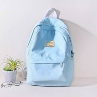 Backpack ransel canvas tas laptop sekolah kuliah kerja anak remaja