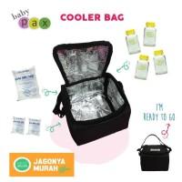COOLER BAG murah Baby Pax - FREE botol kaca ASI Babypax